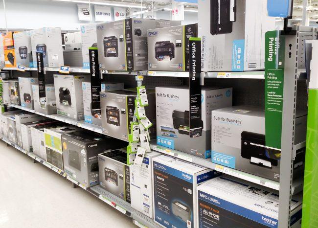 Printer at Walmart
