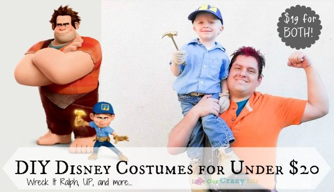 DIY Disney Costumes for under $20