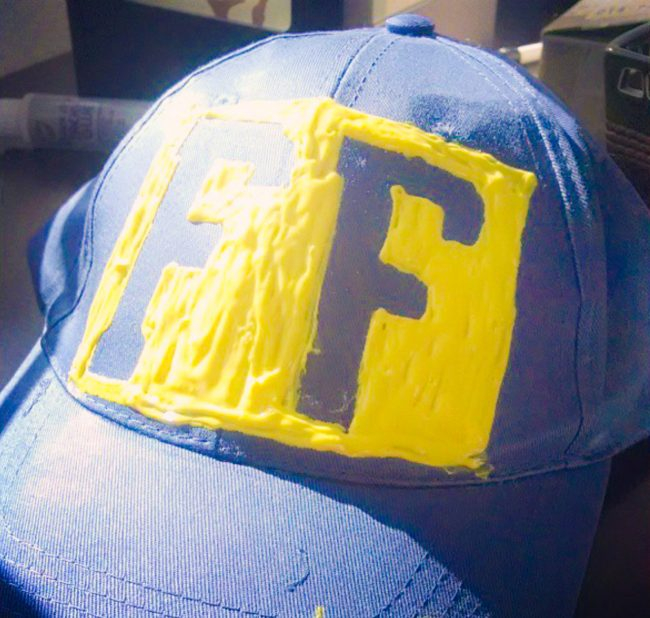 DIY Fix It Felix Hat
