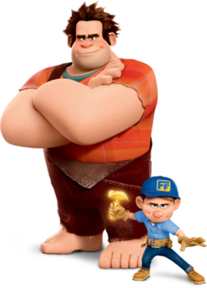 DIY Father Son WReck it Ralph costumes