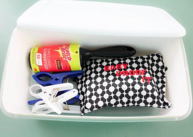 DIY Baby Travel Kit