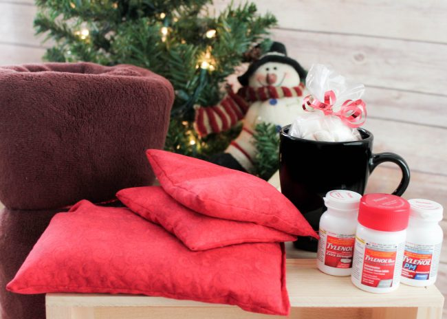 Winter Tool kit to beat aches and pains including a DIY Heat Pack