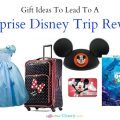 Gifts that lead to a Surprise Disney Trip reveal