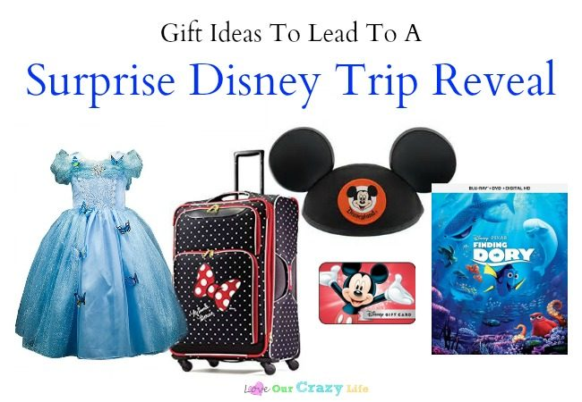 Gift Ideas To Lead To A Surprise Disney Trip