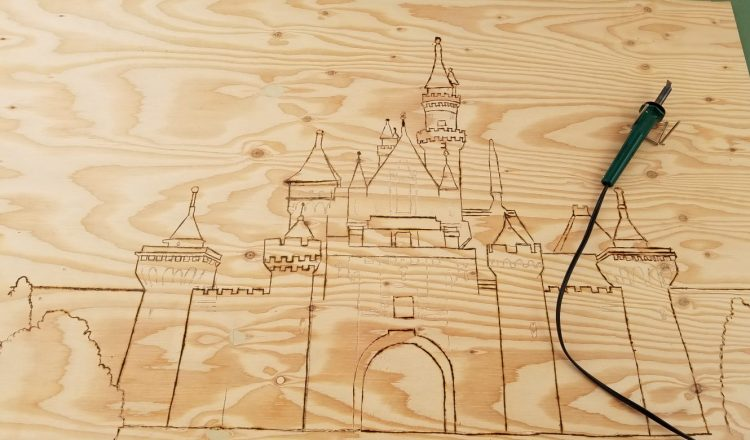 DIY Disneyland Hotel Headboard