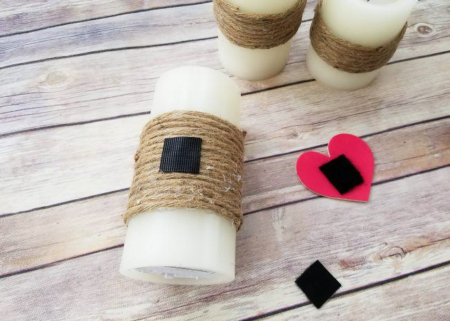 DIY Rustic Candles with Embellishments for all seasons