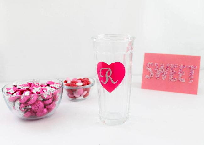 DIY Personalzied Glass Tumbler