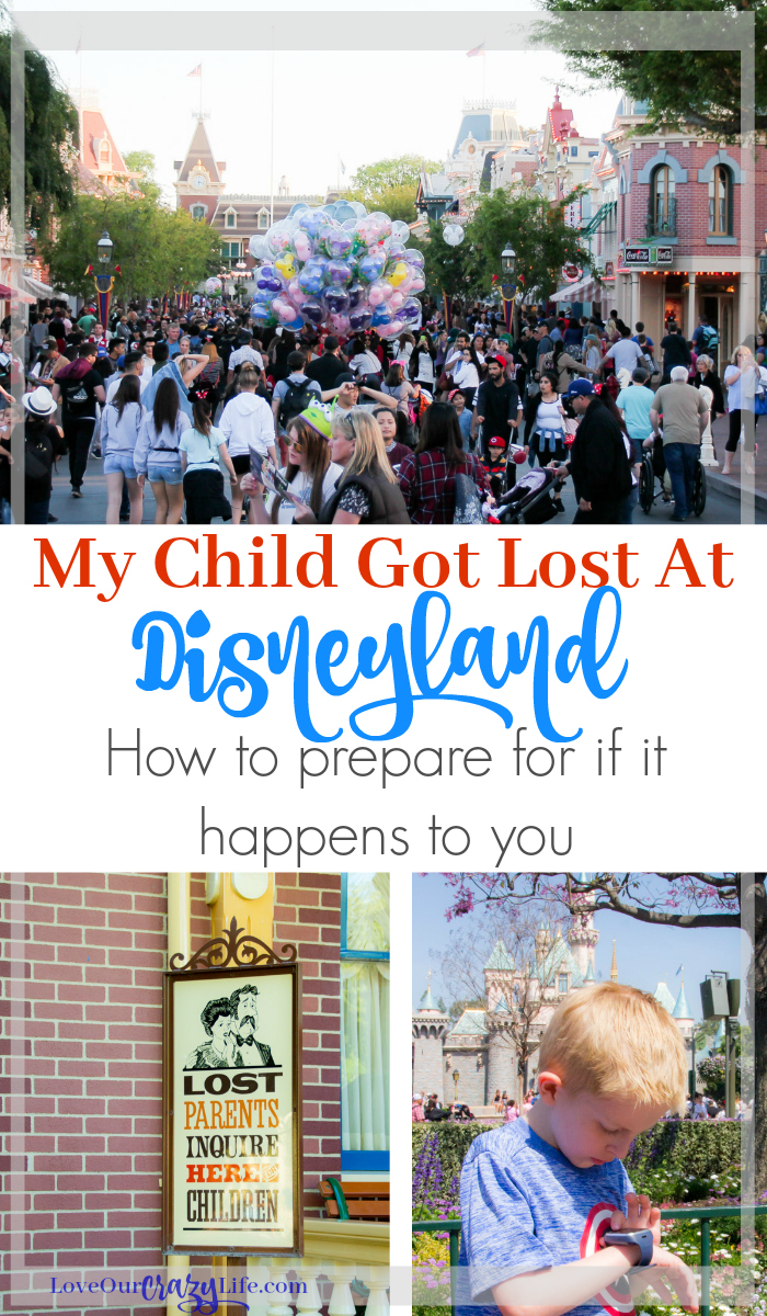How to prepare your family in case someone gets lost at Disneyland. #Disneyland #Parenting #kids #travel
