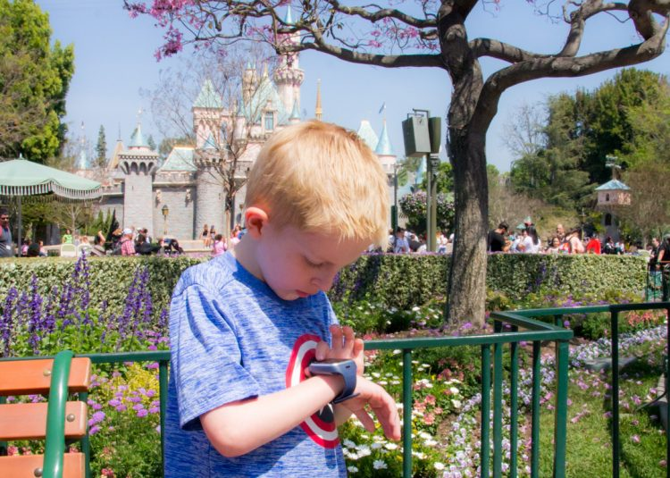 GizmoGadget for Disneyland in case kids get separated