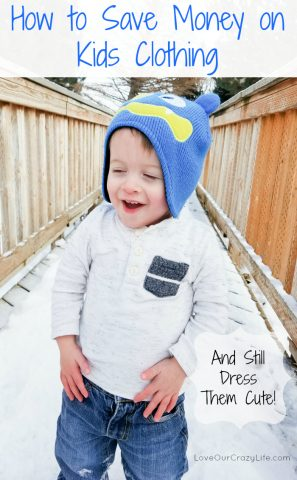 Save Money On Kids Clothing