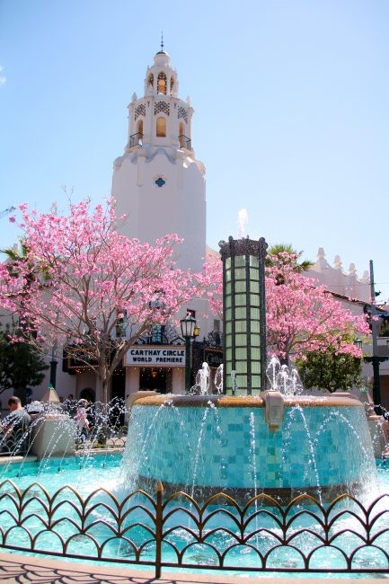 Disneyland during spring break