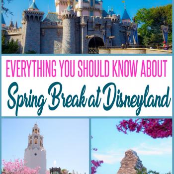 spring break at Disneyland