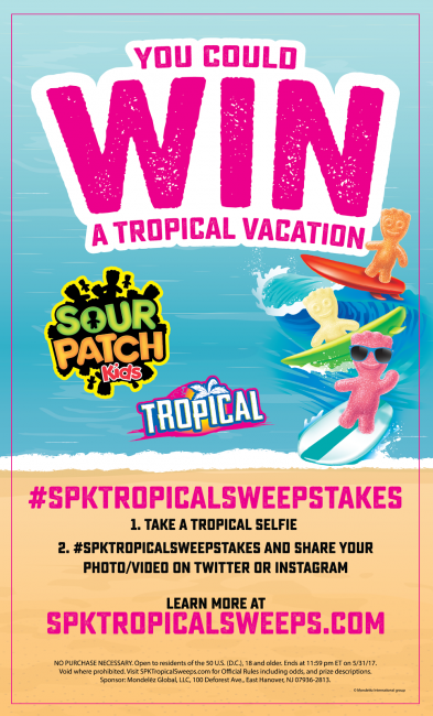 win a tropical vacation