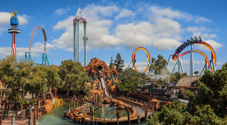Knott's Berry Farm With Toddlers