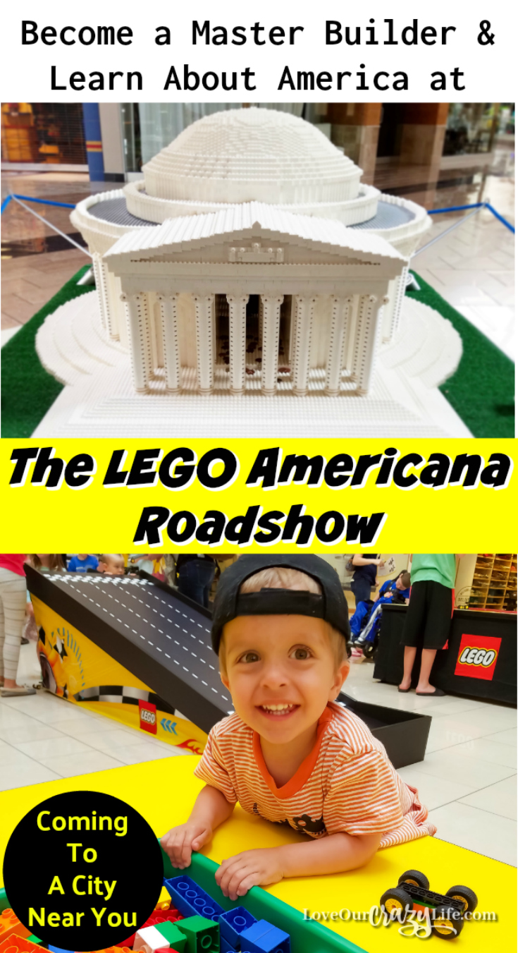 The LEGO Americana Roadshow is touring the country. Find out what you can expect and how you can recreate some of the sculptures at home.  Kids | Legos | History | Educational | Fun | Exhibits | Monuments | Washington DC | Homeschool | Summer