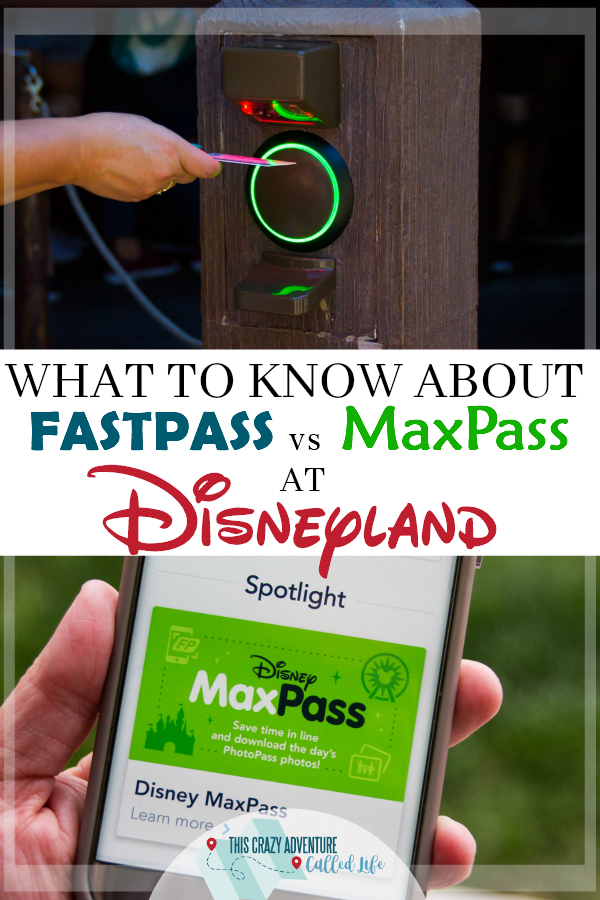 Everything you need to know about Disneyland's Digital Fastpass and MaxPass. Which one should you use? We have all the info!  #Disney #Disneyland #fastpass #MaxPass #vacation #travel #ThisCrazyAdventureCalledLife #California