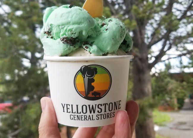Yellowstone ice cream