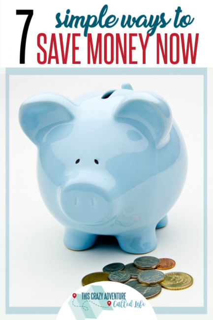 Money tight? Seven ways to save money NOW!