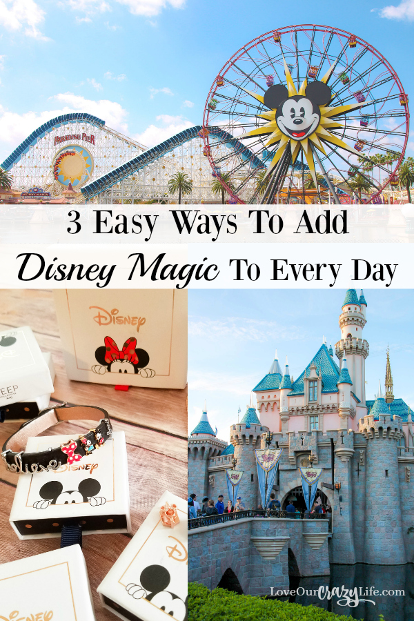 How to keep Disney Magic with you even when not at Disneyland or Walt Disney World  Travel | Fashion | Jewelry | Disney | Keep Collective | Disney Ideas