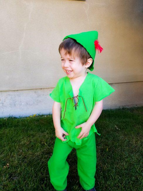 Super Simple Peter Pan Costume