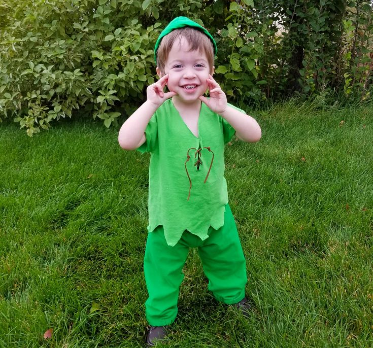 Super Quick and Easy Peter Pan Costume