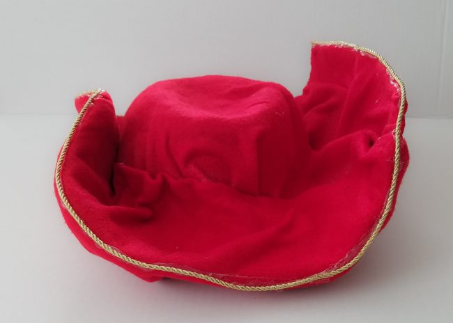 Captain Hook Costume Hat