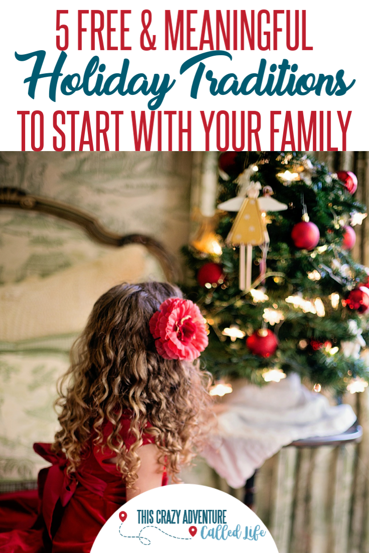 Christmas and holiday traditions are a big part of the season. Check out these fun, meaningful and free activities to do with your kids and start your own family traditions. These are simple traditions to bring the holiday spirit and are perfect for kids, toddlers, teens and families of all sizes.  #FamilyActivities #ChristmasActivities #Kids