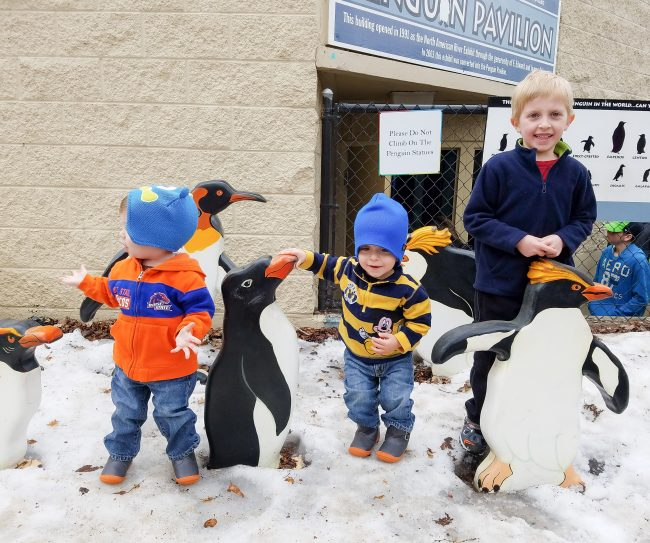 keep kids active by visiting local attractions on warmer winter days