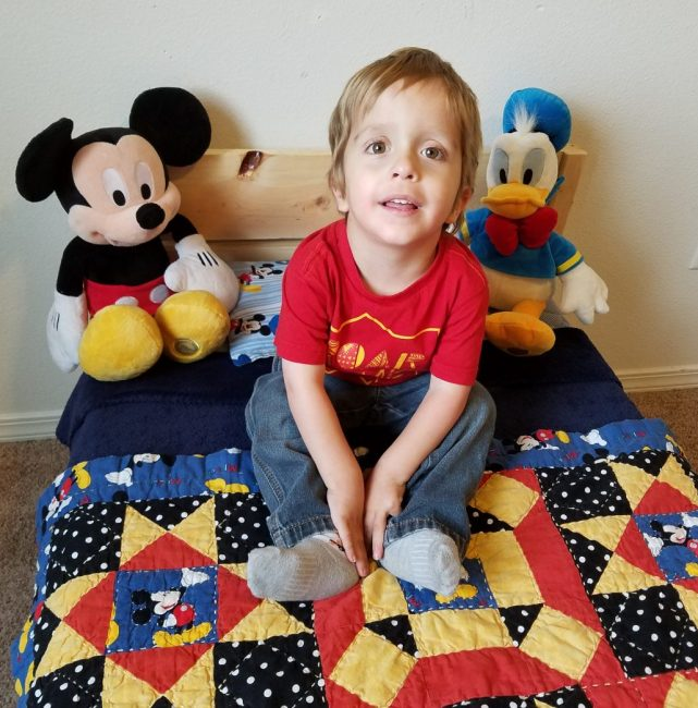 chores for Toddler making bed