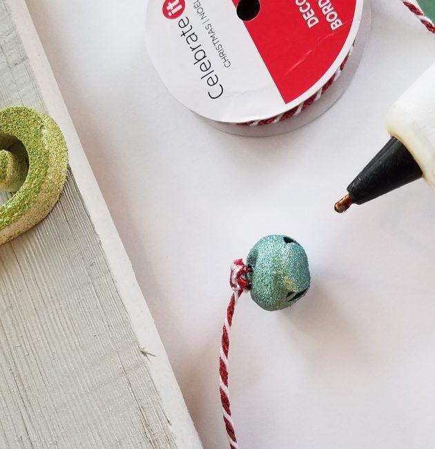 DIY wooden holiday sign Jingle Bells