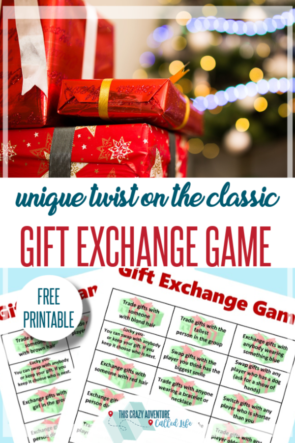 Christmas gift exchange games for church