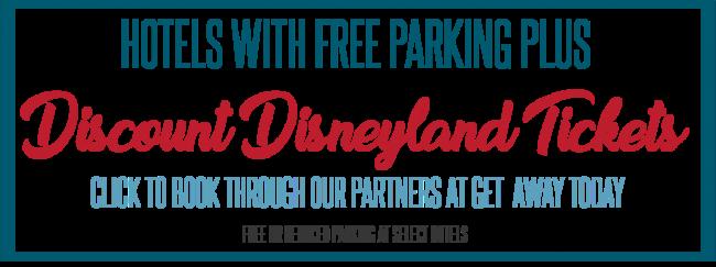 Disneyland parking free