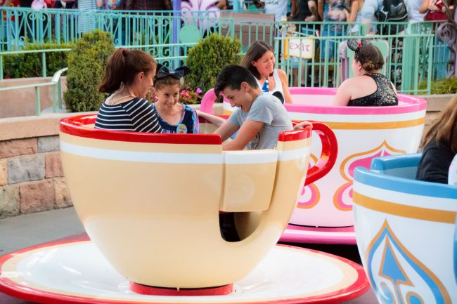 Disneyland Ticket Prices Teacups at Disneyland