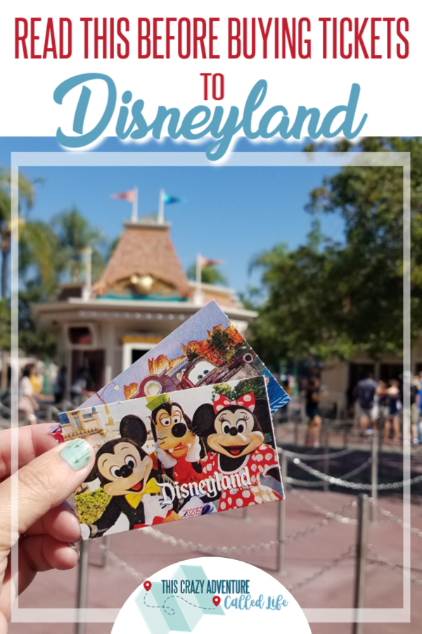A complete guide to Disneyland tickets, including ticket options, discounts for going to Disney on a budget, secrets on who gets special tickets and more. Disneyland insiders give hacks and tips that could save you hundreds. #ThisCrazyAdventureCalledLife #Disneyland #DisneylandwithKids #vacation #familytravel  Disneyland | California Adventure | Disney | Vacation | Family Travel | Theme Parks | Tickets | California