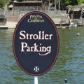 Stroller parking for Strollers At Disneyland