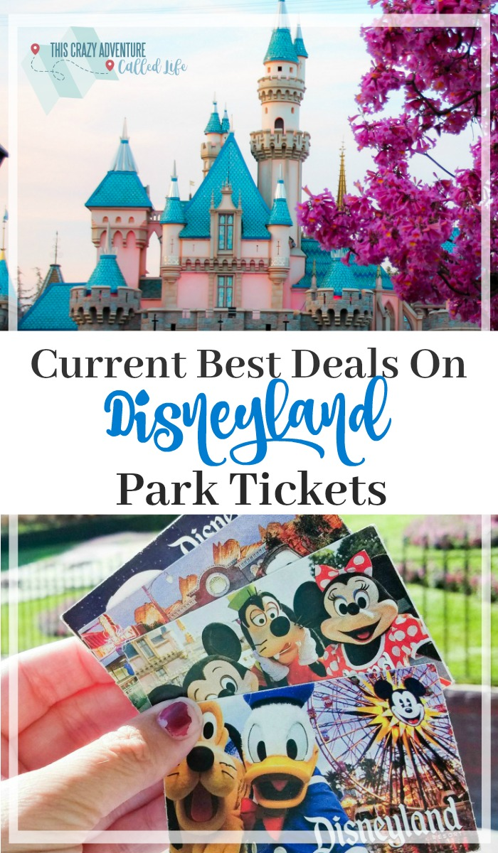 This website stays updated with the best Disneyland ticket deals out there! Plus it has discount codes for vacation packages, and more! Definitely pin if you plan on going to Disneyland for a family vacation. Could save you hundreds of dollars.  #Disneyland #California #Disney #Vacation