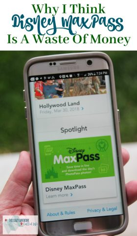 Wondering if Dinseyland MaxPass is worth the cost? There are five times we think it may not be worth the money. #Disneyland #Disney #MaxPass #California