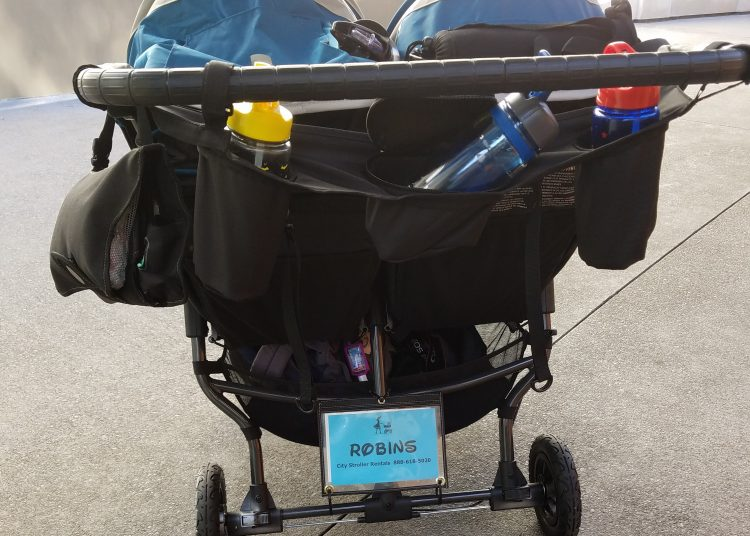 Disneyland Stroller Rental from City Stroller Rental is a great option for double stroller needs for those who have twins or two younger children like our family.