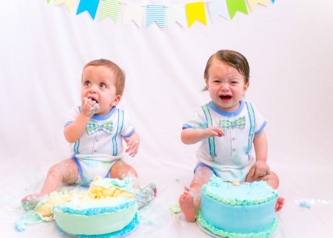 twin Cake smash but no birthdayparty