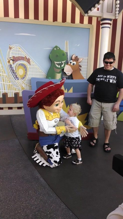 Toy Story and Child with ITP