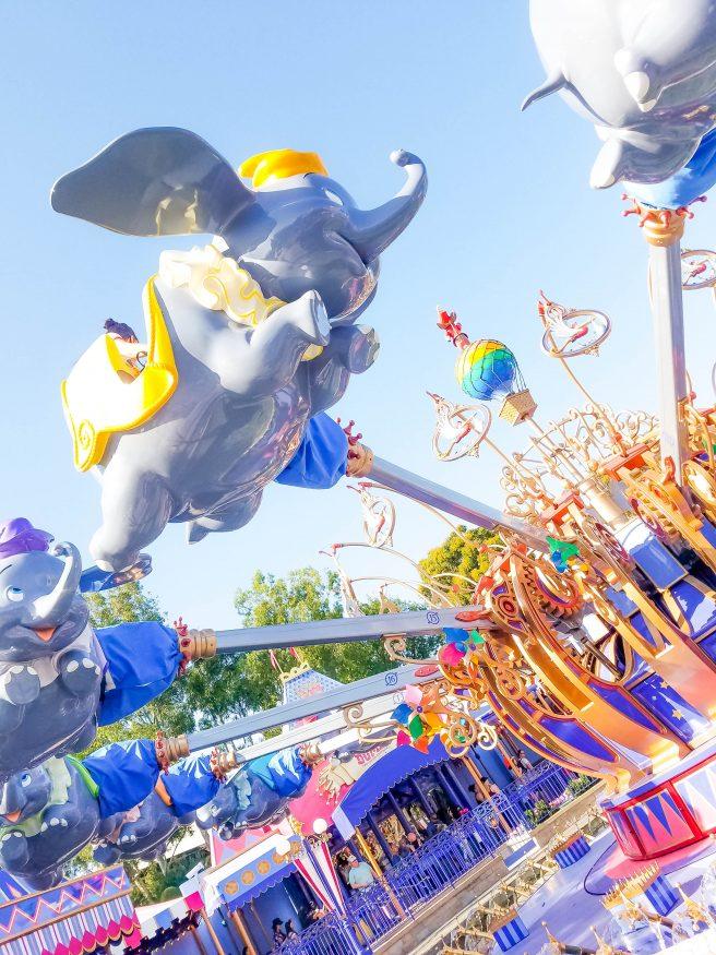 Disneyland annual pass Dumbo ride
