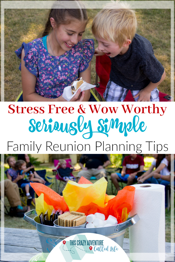 Check out these tips for planning a simple but trendy family reunion.