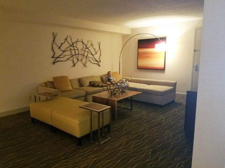 Hilton Salt Lake CIty Center King Suite