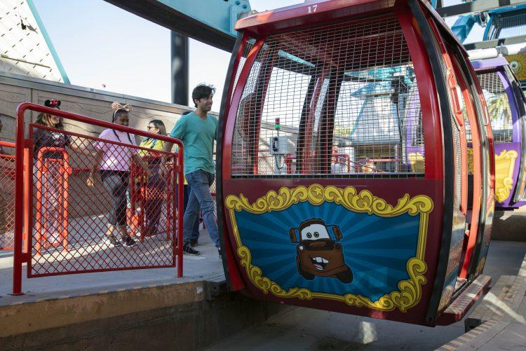 Paradise Pier Pixar Pal-A-Round