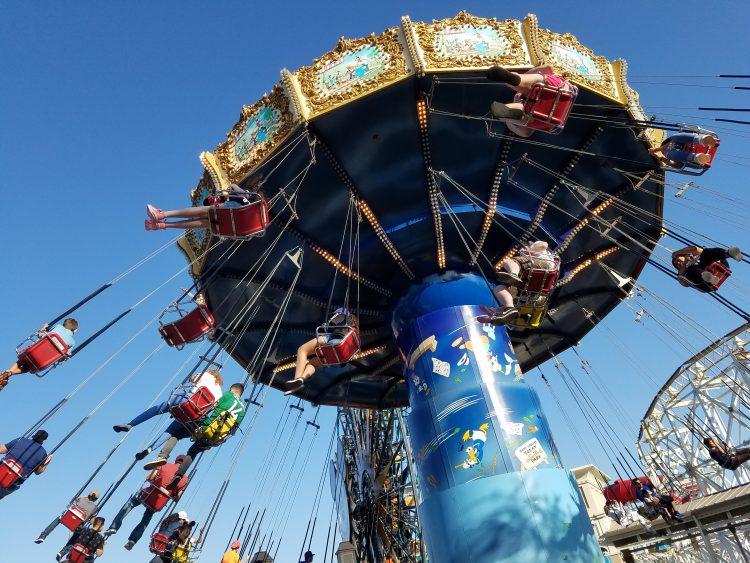 Disneyland Disney California Adventure Swings
