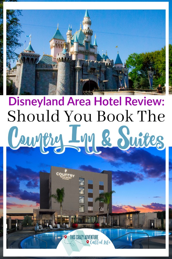 Disneyland area hotel review. Is this hotel a good fit for your family vacation? Free breakfast? Within walking distance of the theme parks? Southern California hotel review with families in mind. #Disneyland #VisitCalifornia #Travel #Family #DisneylandwithKids #ThisCrazyAdventureCalledLife