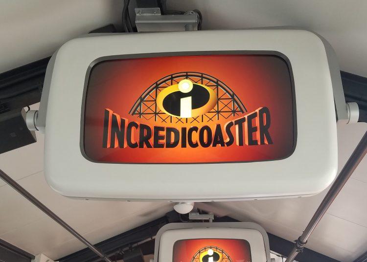 Incredicoaster queue at Pixar Pier