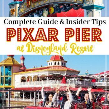 Complete Guide To Pixar Pier at the Disneyland Resort in Disney California Adventure.