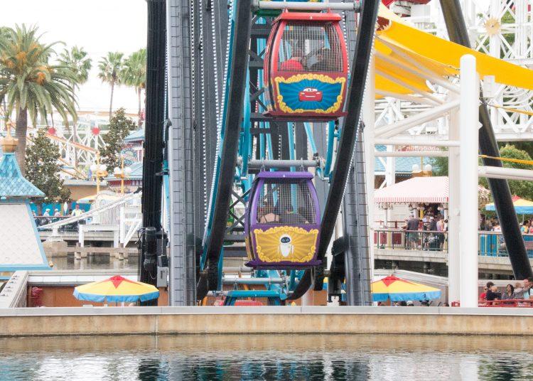 Pixar Pal A Round ride at Pixar Pier