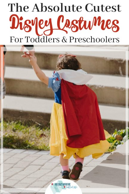 Disney costumes for Toddlers and Preschoolers